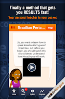 Screenshot of Learn Brazilian Portuguese