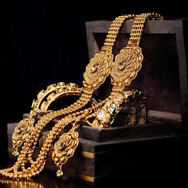 Gold #4 by Sarath Sankar - Artistic Objects Jewelry