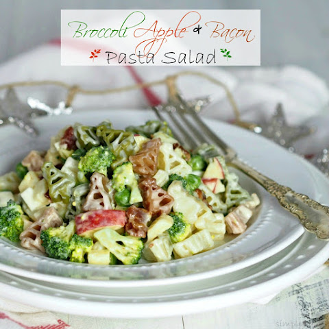 Broccoli, Apple & Bacon Pasta Salad