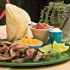 Beef Fajitas With Pico de Gallo