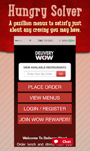 Delivery WOW - screenshot