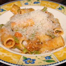 Rigatoni and Asparagus