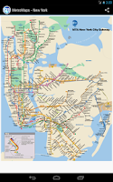 Screenshot of MetroMaps, 100+ subway maps