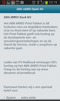 Screenshot of Discount PV Radboud members
