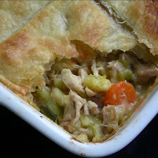 Creamy Italian Chicken Puff Pie