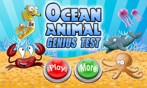 Ocean Animal Genius Test