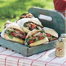 Flank Steak Sandwiches with