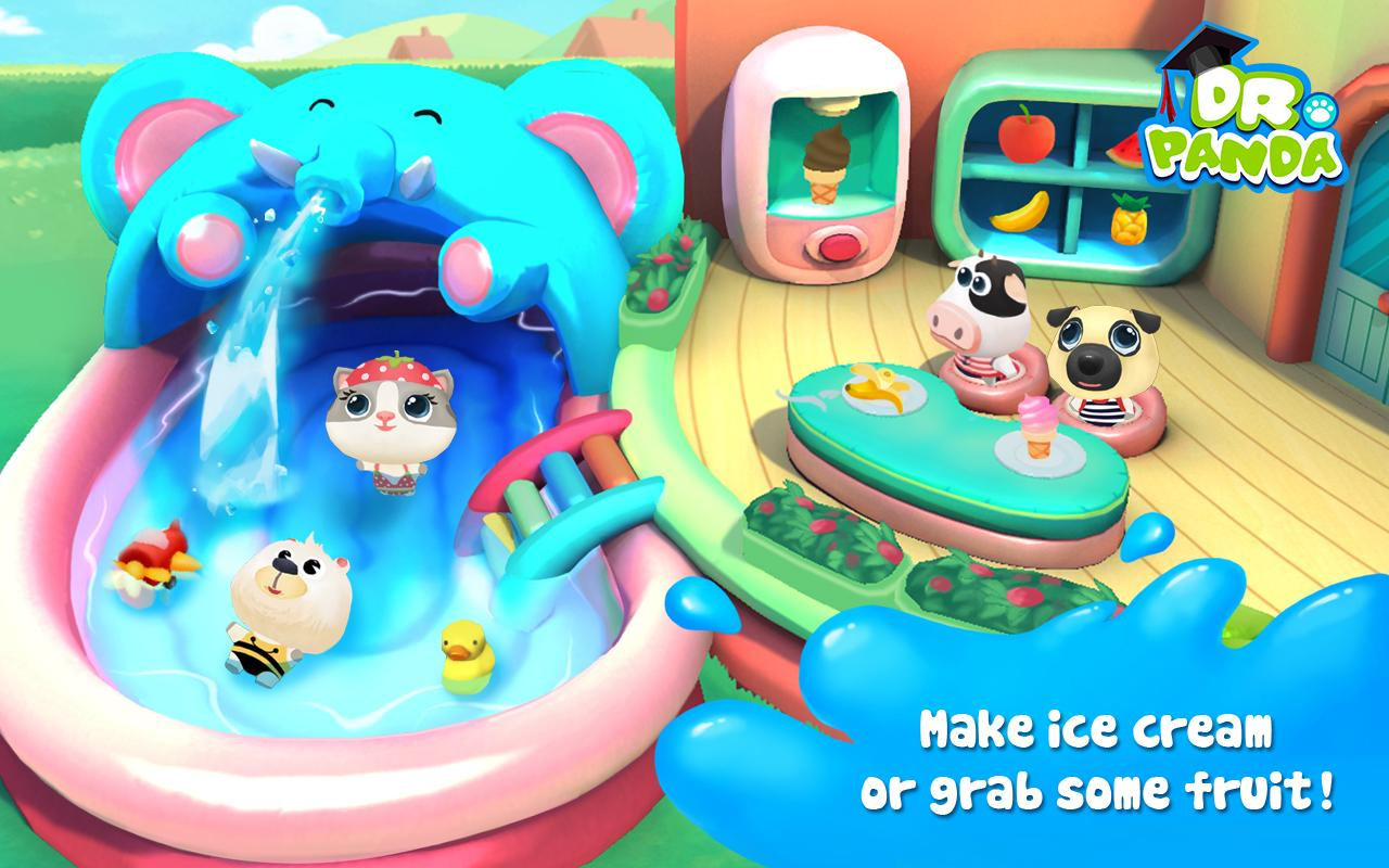 Dr. Panda's Swimming Pool Screenshot 9