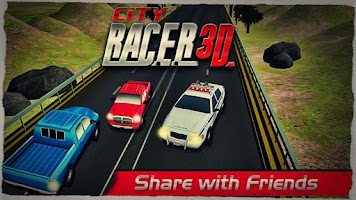 Screenshot of CITY RACER 3D
