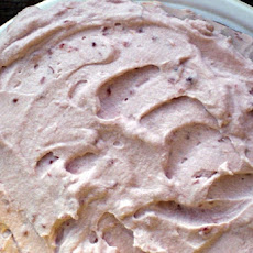 Raspberry Whipped Cream