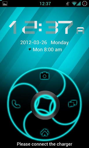 GoLocker Theme ElectricCyan