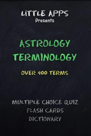 400 ASTROLOGY TERMs QUIZ