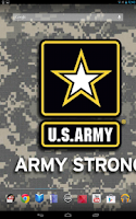 Screenshot of U.S. Army Wallpaper & Cadences