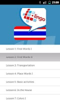 Screenshot of L-Lingo Learn Thai Pro