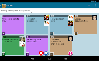 Screenshot of LeanPocket - A LeanKit Client