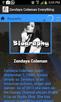Screenshot of Zendaya Coleman Everything
