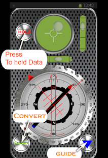 اتجاه القبلة Qibla Compass-PRO - screenshot