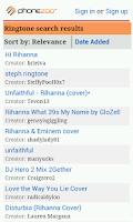 Screenshot of Free Ringtones Downloader
