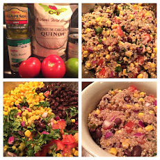 15 Minute Southwest Quinoa Salad