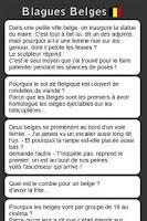 Screenshot of Blagues Belges