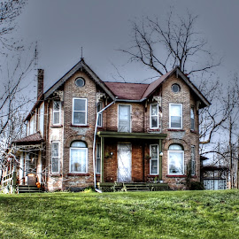 Come On In by Elyzabeth Krajewski - Buildings & Architecture Homes ( house home hdr haunted )