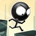 Game Stickman Roof Runner apk for kindle fire