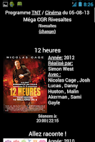 Screenshot of Programme TNT / Cinéma