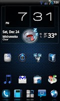 Screenshot of Mixer - CM7 Theme