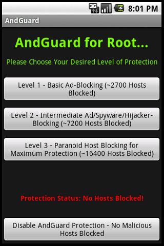AndGuard Pro w Iptables