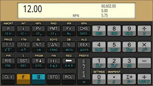 Quick 12C Financial Calculator