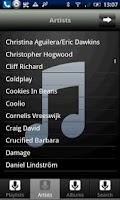 Screenshot of iRemote iTunes & WMP