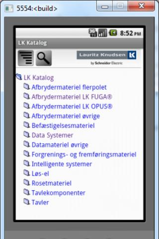 Screenshot #1 of LK katalog / Android