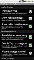 Screenshot of MultiPicture Live Wallpaper dn