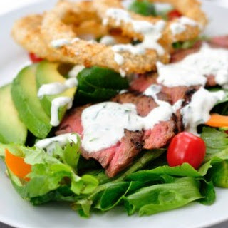 Steakhouse Salad with Creamy Horseradish Dressing