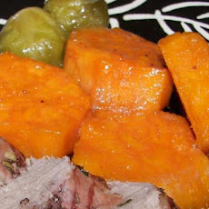 Lemony Glazed Sweet Potatoes