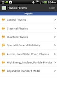 Screenshot of Physics Forums
