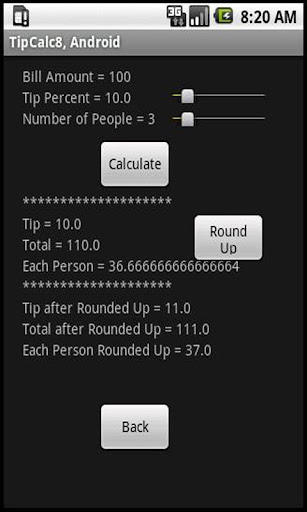 【免費財經App】TipCalculator Round Up-APP點子