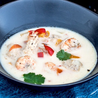 Creamy Seafood Stew With Coconut Milk