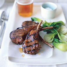 Chinese Char Siu Grilled Lamb Chops