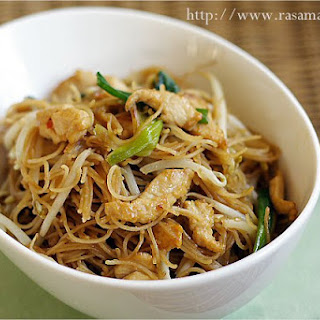 Fried Rice Vermicelli/Rice Sticks/Rice Noodles Recipe (炒米粉)