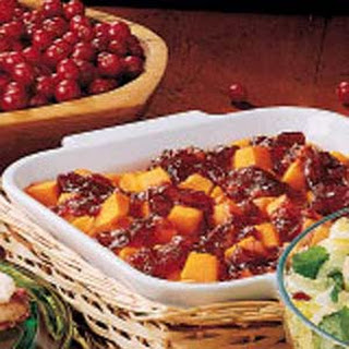 Cranberry-Apple Butternut Squash