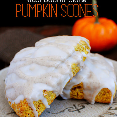 Starbucks Clone Pumpkin Scones