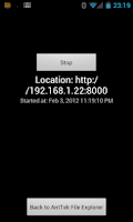 Screenshot of AntTek Wifi Sharer