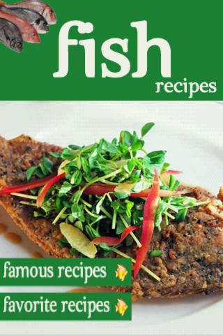 Fish Recipes Cookbook Seafood