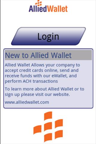 Allied Wallet: Mobile Wallet
