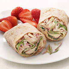 Ham, Swiss and Apple Wraps