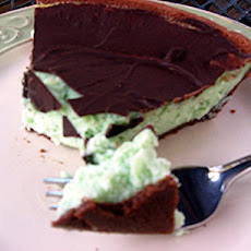 Grasshopper Cheese Pie