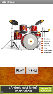 Real Drum (Batería)- screenshot