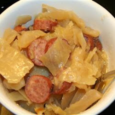 Cabbage Kielbasa Supper