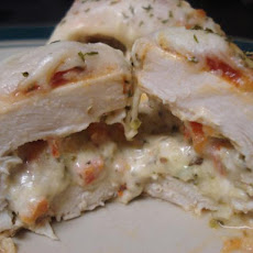 Italian Cheese Chicken Roll-Ups